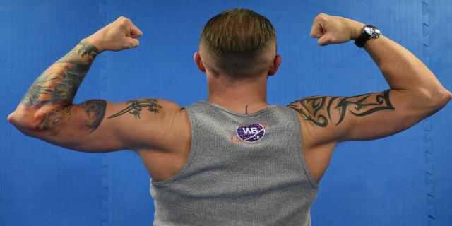 Back Gym Pose